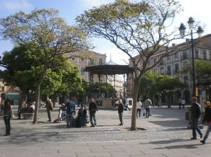 La Plaza Mayor de Segovia.