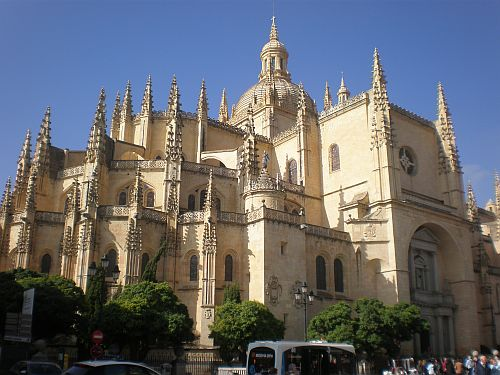 Catedral gótica de Segovia.