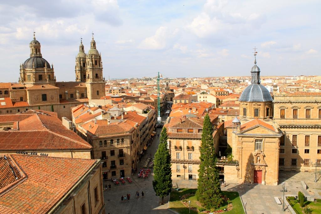 Salamanca desde la terreza de la catedral nueva.