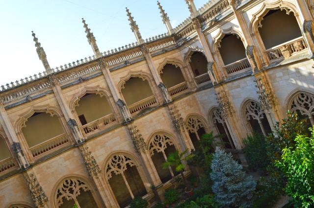 Claustro del Monasterio de San Juan de los Reyes.