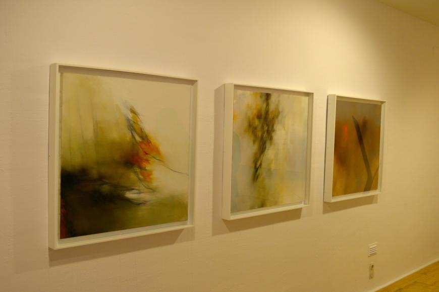 Obras de Fernando Zóbel.