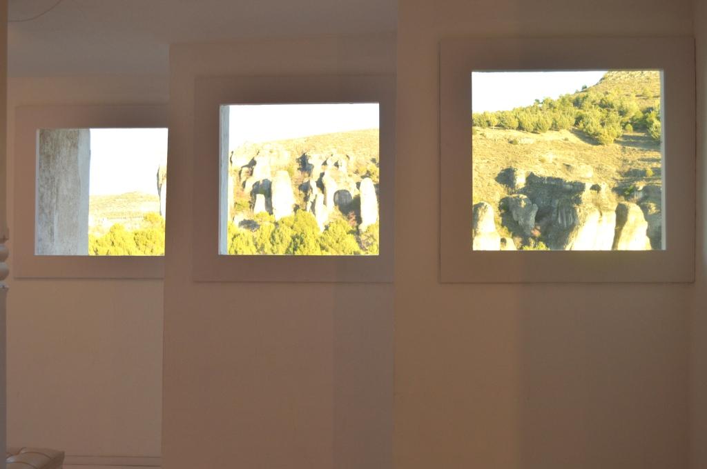 MAAE: Detalles de las vistas a la hoz del huércar.