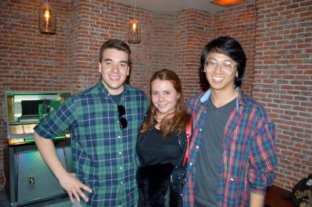 Alex, Jon y Elena.