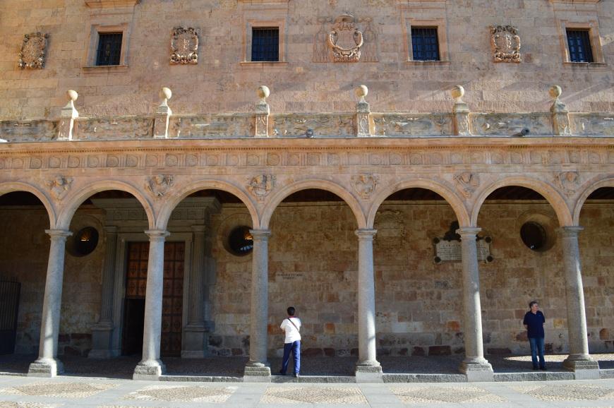 Detalle del Monasterio de San Esteban