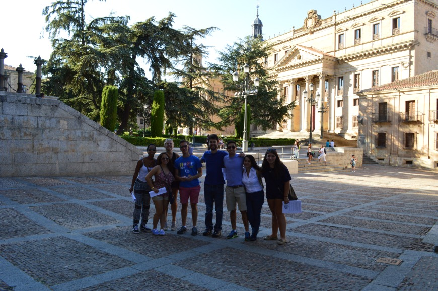 En la Plaza de Anaya.
